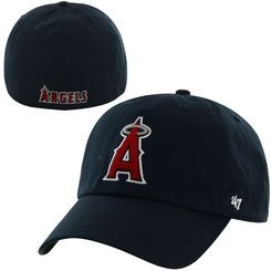 3bdcc945622e1 Los Angeles Angels of Anaheim  47 Franchise Fitted Hat - Navy ...