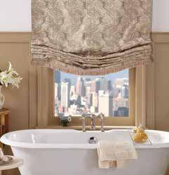 Custom Relaxed Roman Shades Bathroom Window Treatments Custom - Roman shades for bathroom window