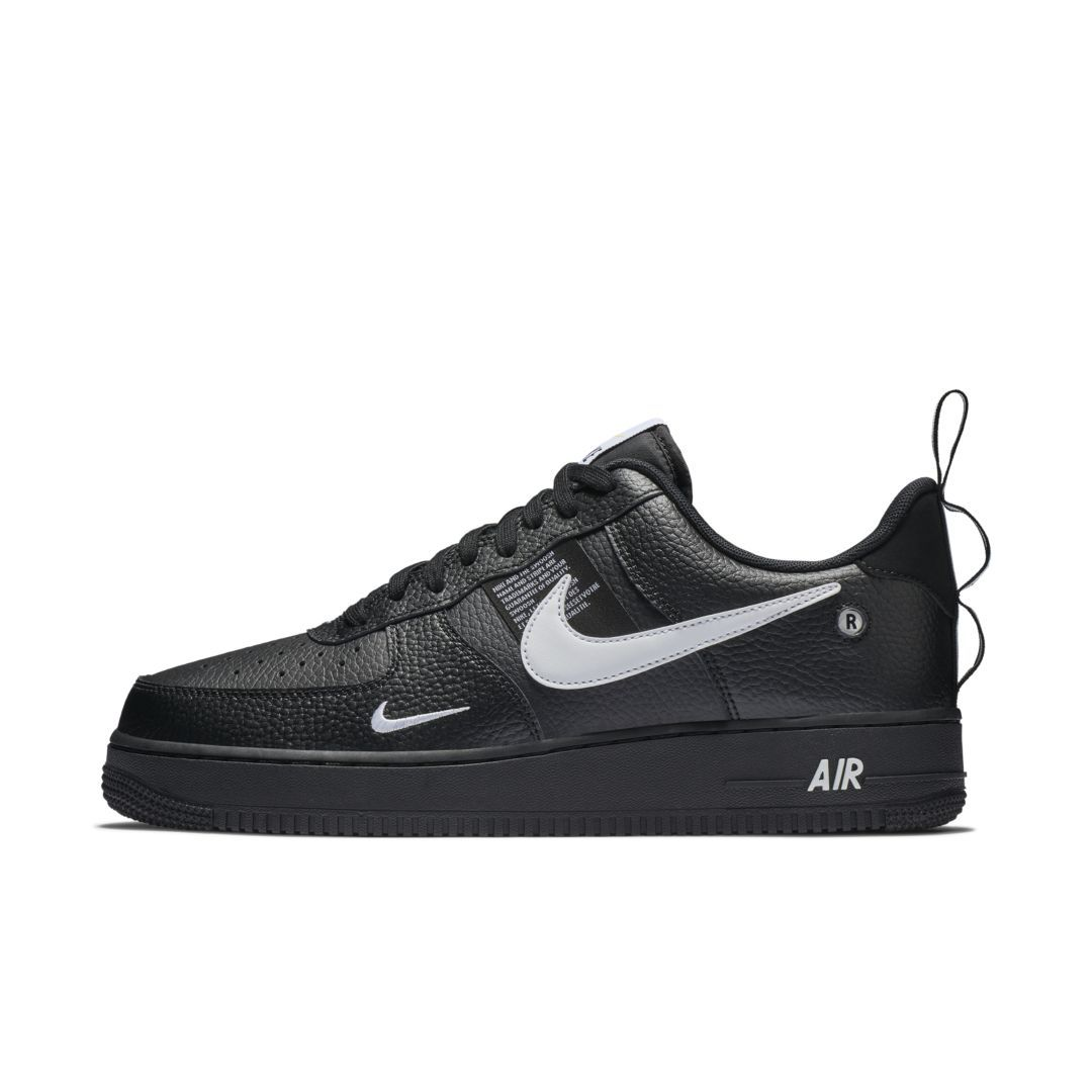 Nike Air Force 1 07 Lv8 Utility Men S Shoe Size 11 5 Black