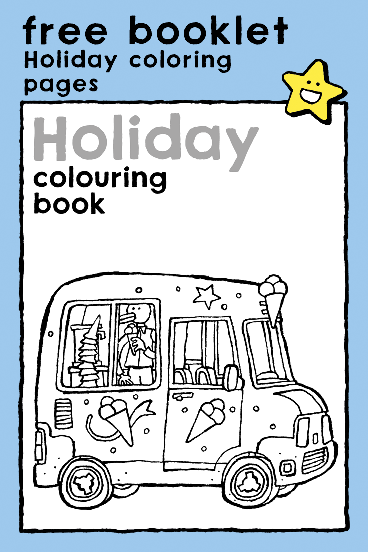- Holiday Colouring Book In 2020 Holiday Coloring Book, Coloring