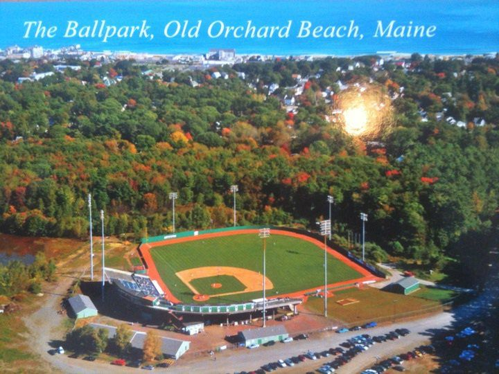 Old Orchard Beach Raging Tide The Ballpark Pointstreak Sites Old Orchard Beach Ballparks Beach