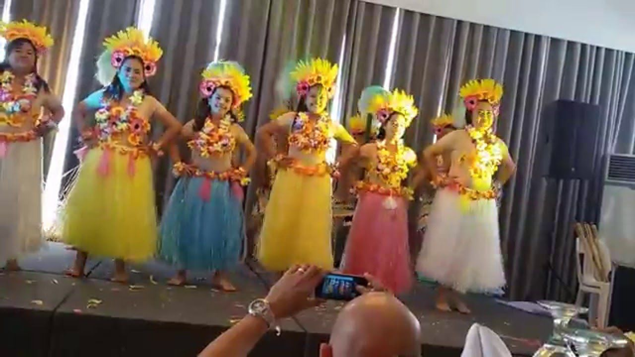 Charming Christmas Party Presentation Ideas Part - 9: Hawaiian Dance Christmas Party Presentation 2014