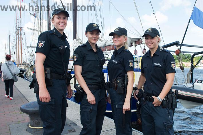 Caring for safety at Hanse Sail Rostock