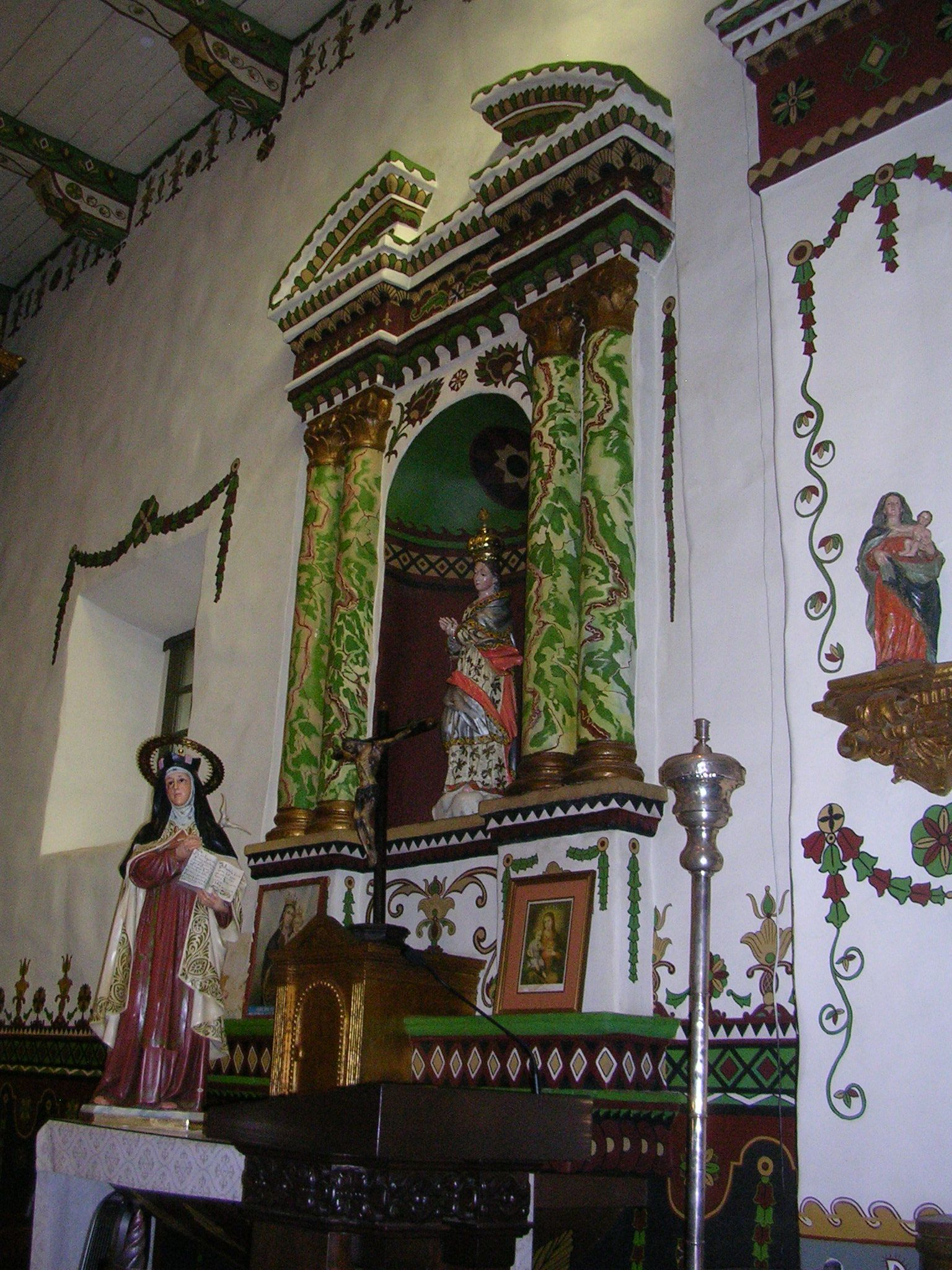 Mission San Juan Capistrano Wall Decorations In Serra Chapel Mission San Juan Capistrano California Missions San Juan Capistrano