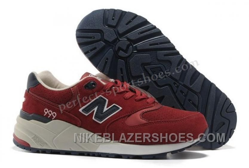 Factory Price New Balance 999 Sale Trainers BurgundyNavy