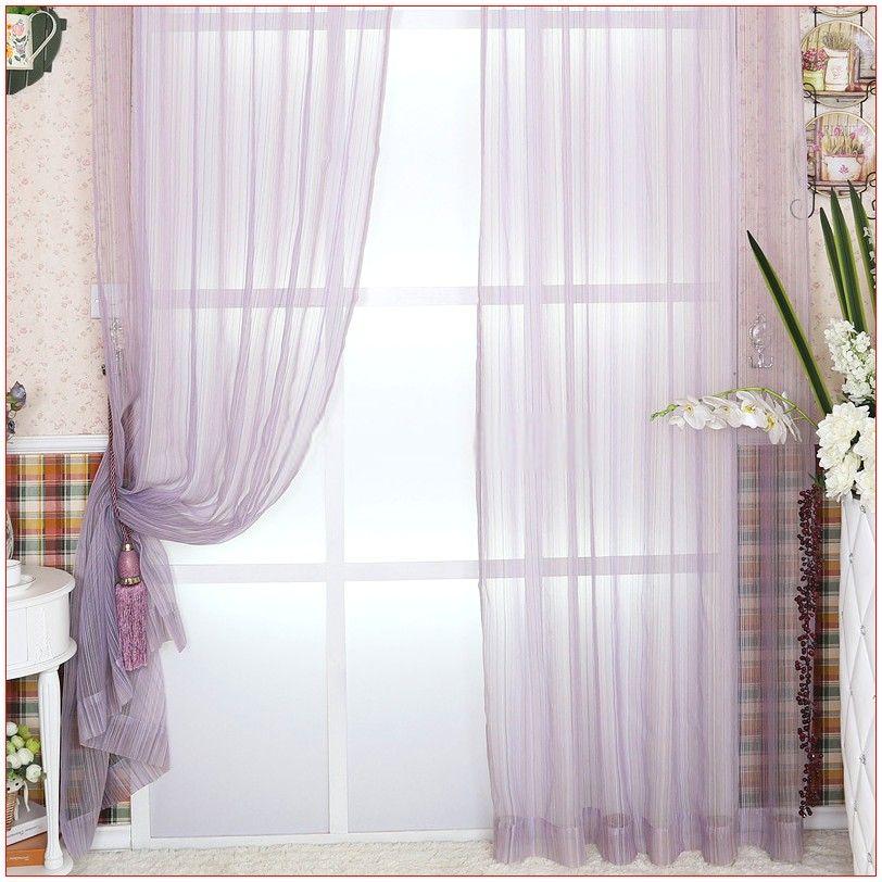 Drapes Bedroom Romantic In 2020 Purple Sheer Curtains Sheer Curtains Curtains