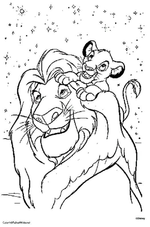 Lion King Coloring Page Disney Coloring Sheets Disney Coloring Pages Printables Cartoon Coloring Pages