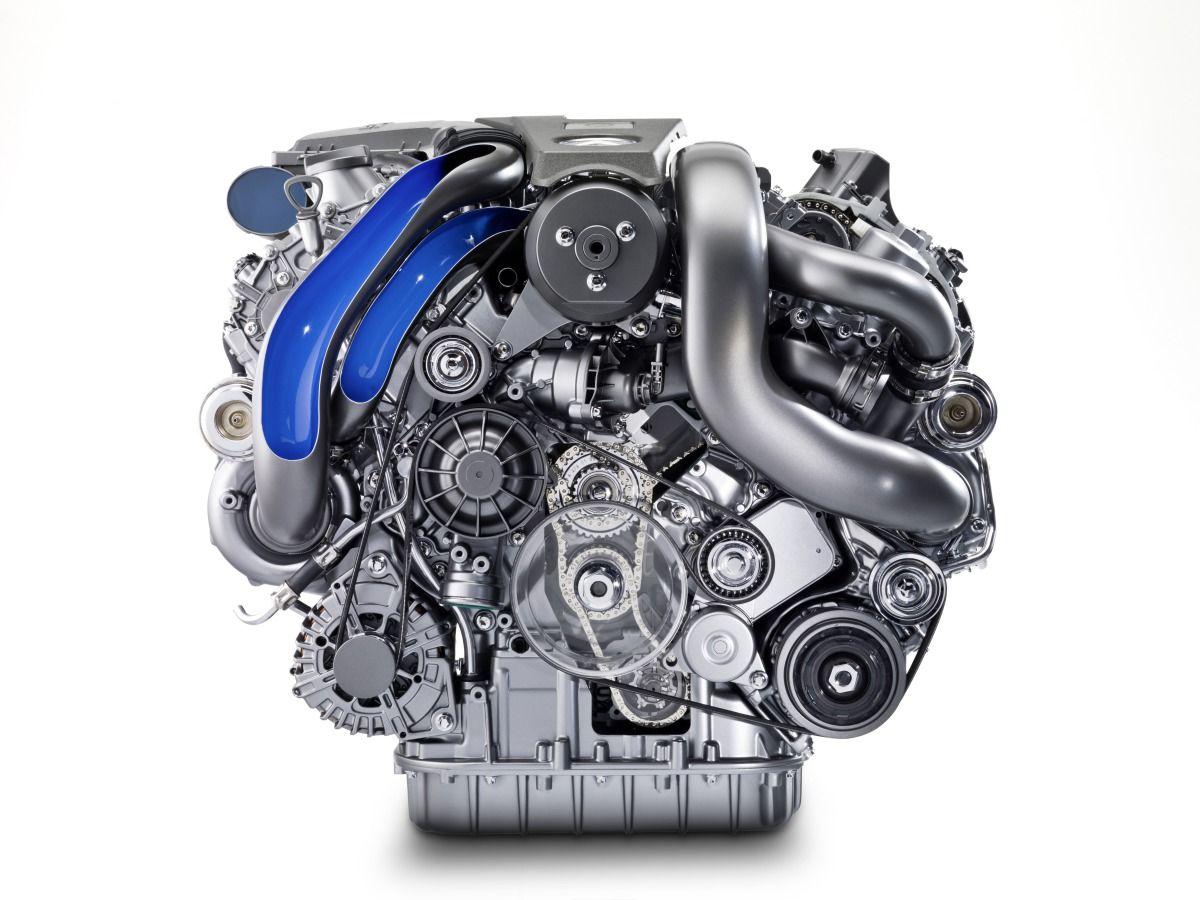 The New Amg 5 5 Litre V8 Biturbo Engine With Images