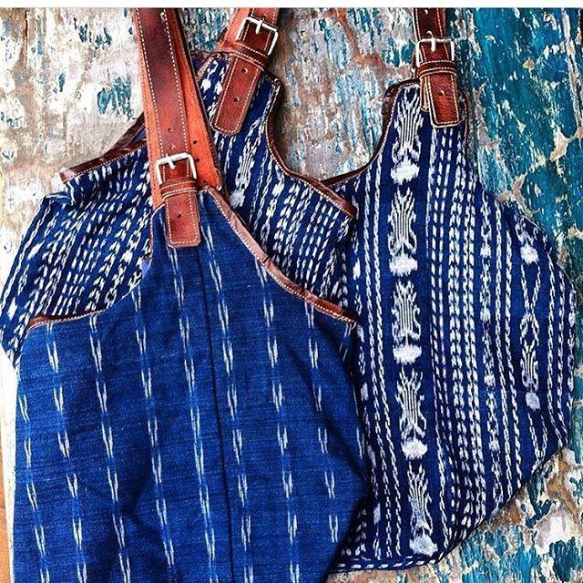 They're here! Indigo purses from #Guatemala #faithcolectiva #puertovallarta #oldtownpuertovallarta