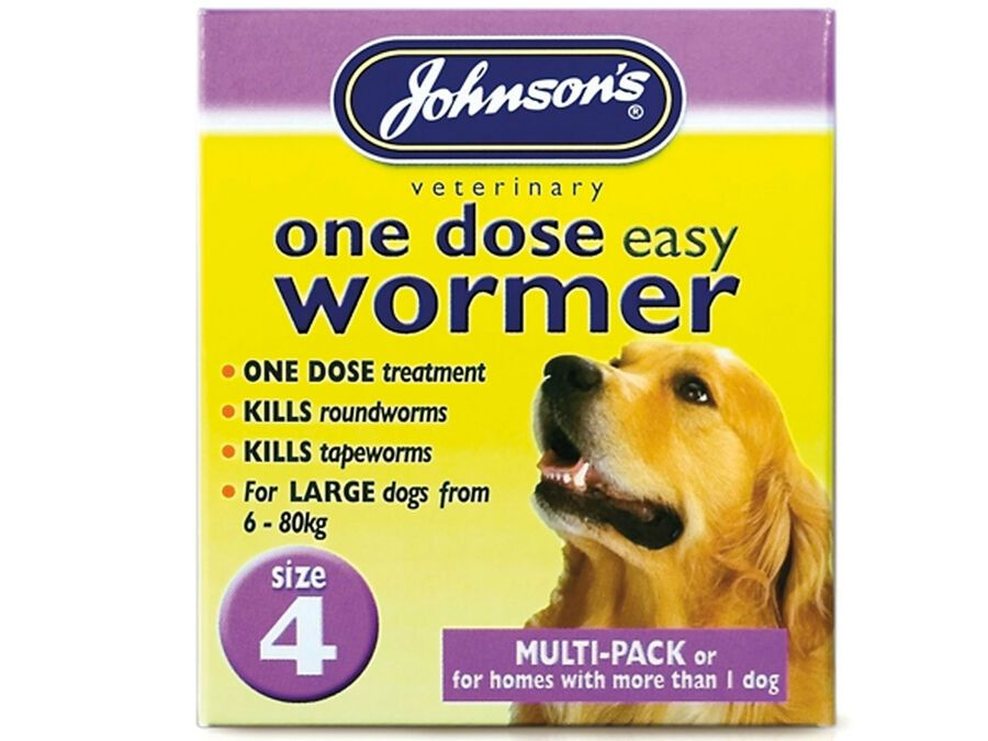 Johnsons One Dose Easy Wormer Dog Worm Worming Tablets Roundworm Tapeworm Ad Sponsored Wormer Dog Easy Worms In Dogs Deworming Dogs Very Small Dogs