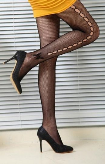 Something pantyhose with fancy dress could not