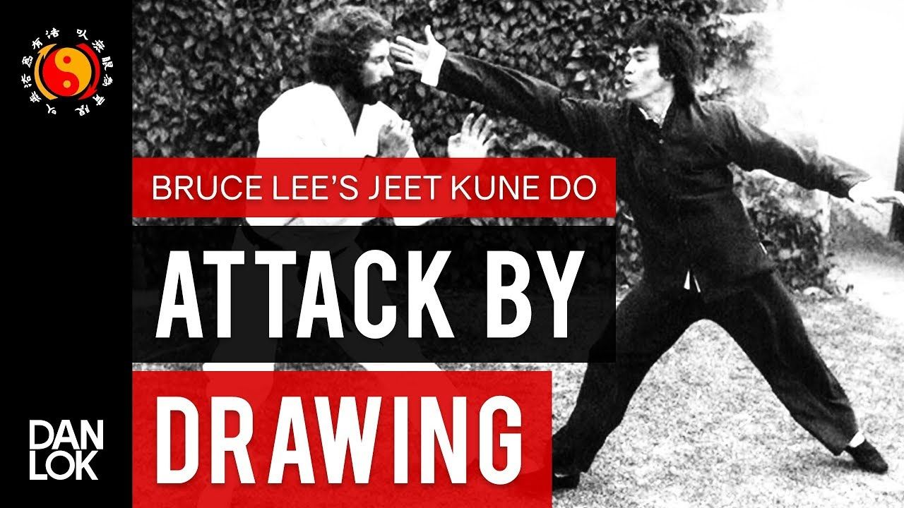 Bruce lees jeet kune dos five ways of attack attack by
