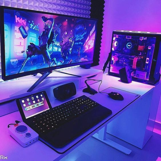 5 Most Recommended Video Game Room Ideas -  #homedecor #video #game #room #videogameroom #gameroom #modern #ideas #inspiration #light #BattleStation – #GamingOffice #gamingsetup