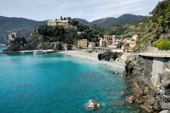 Perched On Italy S Ligurian Coast The Five Villages That Make Up Cinque Terre Riomaggiore