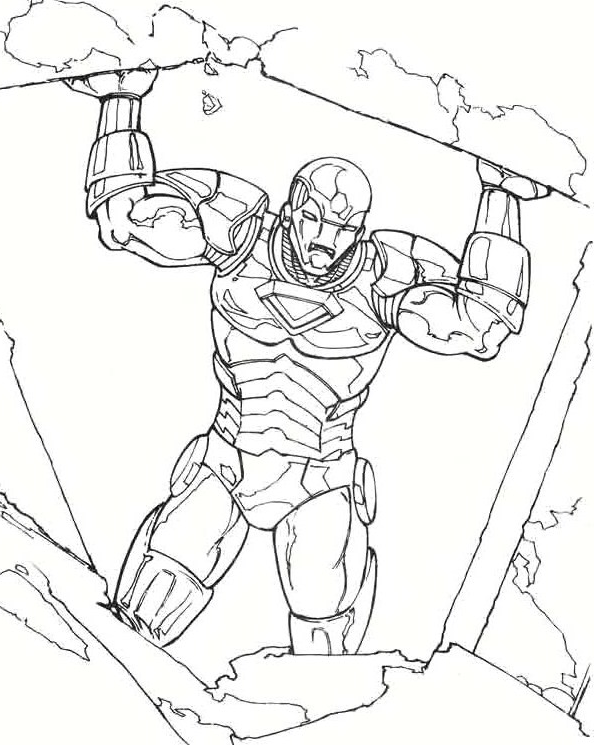 Pictures Iron Man Saves The Town Coloring Pages Coloring Pages Coloring Books Colorful Drawings