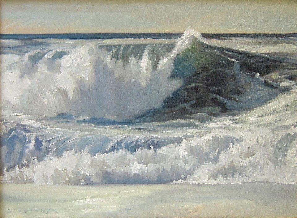 Dennis Ziemienski Sea Painting Ocean Landscape Seaside Paintings