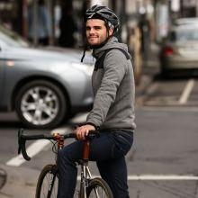 Attakai Wool Jacket, Cycling wool hooded jumper