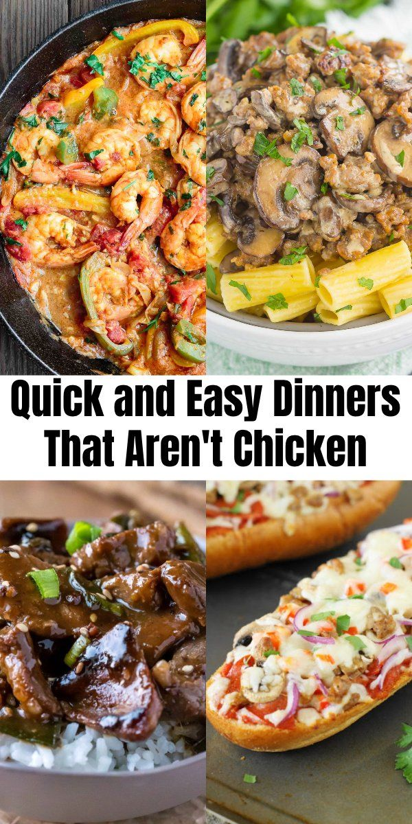 16 Quick and Easy Dinners That Aren't Chicken images