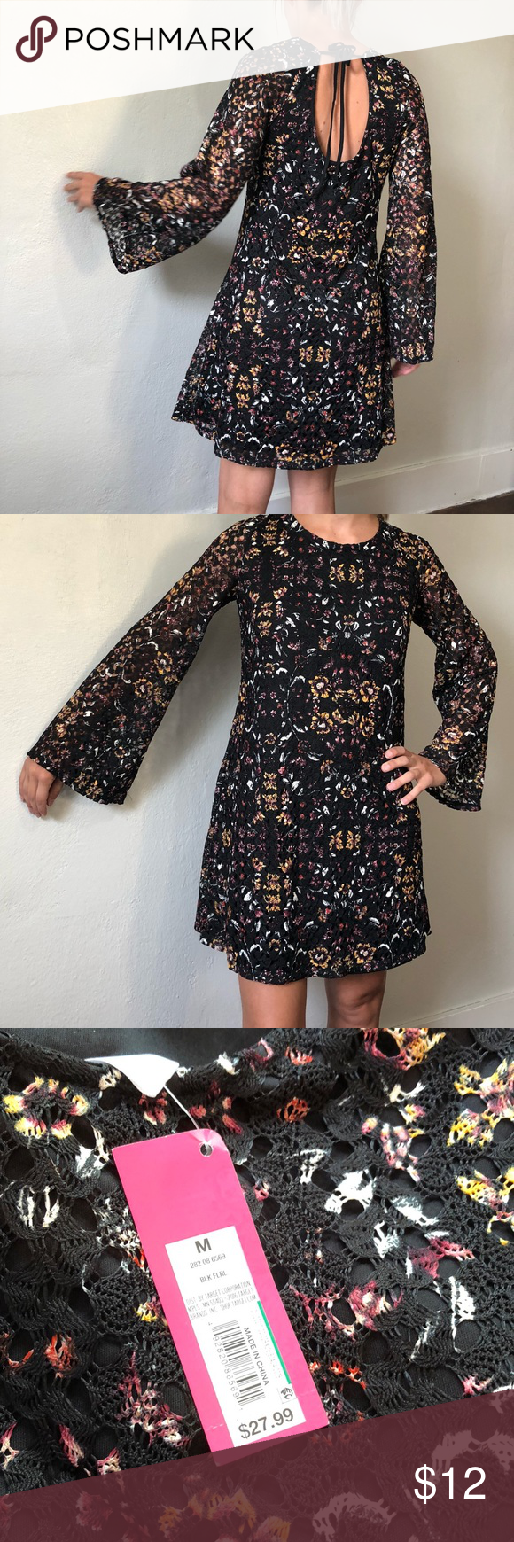 New long sleeved lace dress from target nwt my posh picks