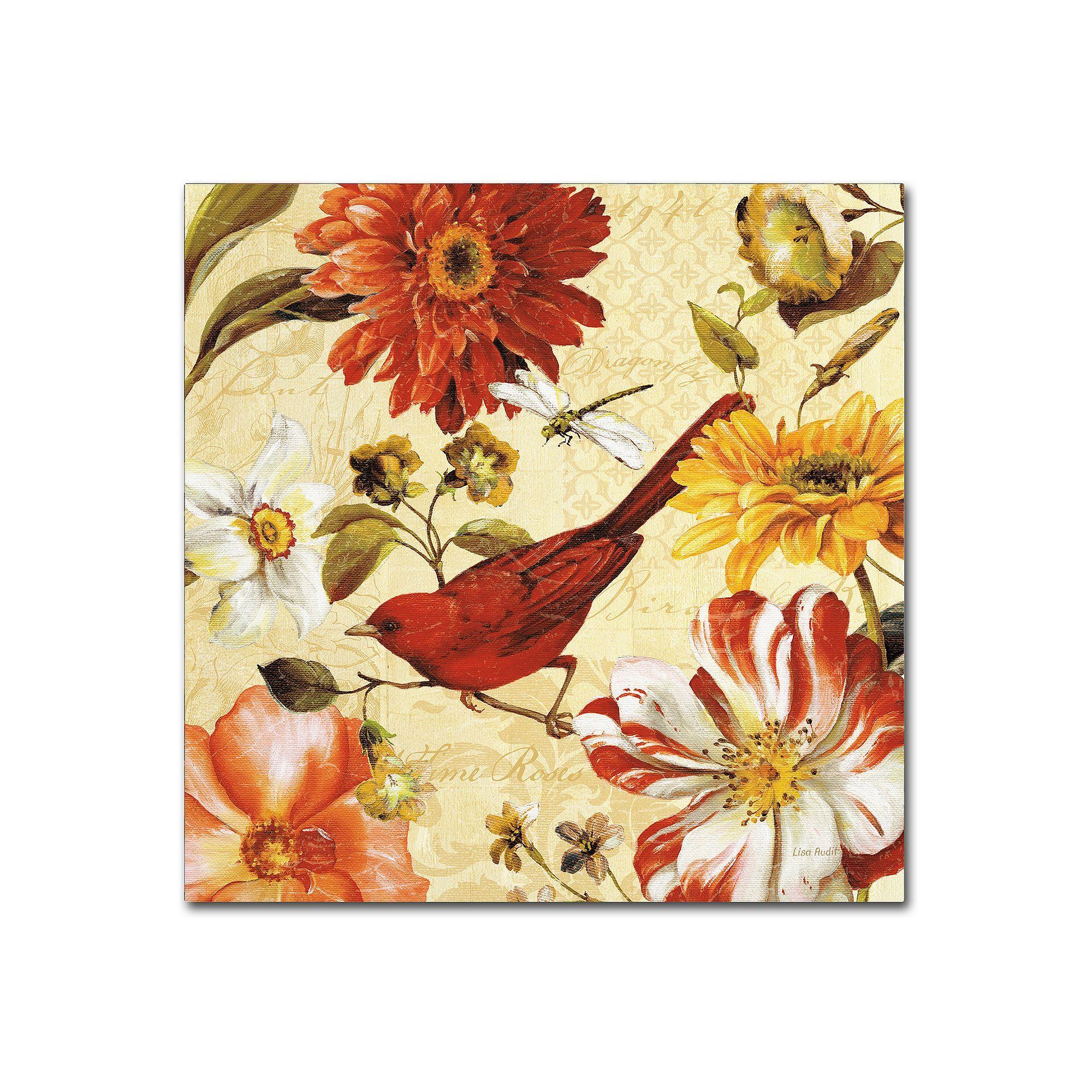Trademark Fine Art Rainbow Garden Spice III Canvas Wall Art ...