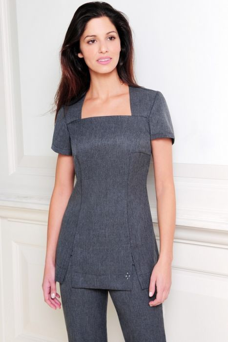 Shannon tunic in 2019 spa for Spa uniform online
