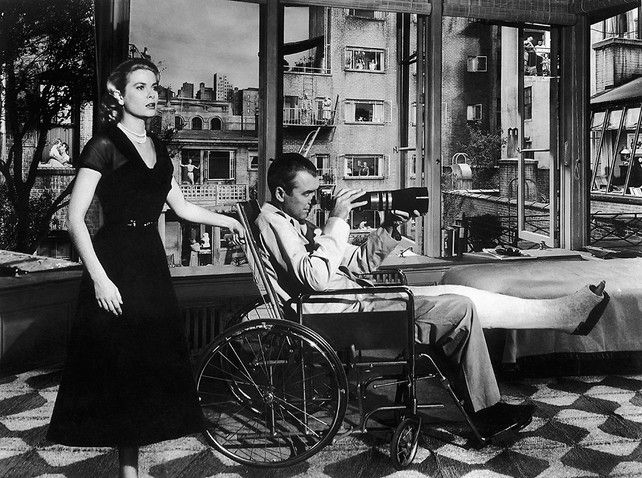 "Hitchcock's ""Rear Window,"" Recut Into An Amazing Panoramic View MAKING IT JIMMY STEWART JUST GOT A SERIOUS UPGRADE TO HIS BINOCULARS."