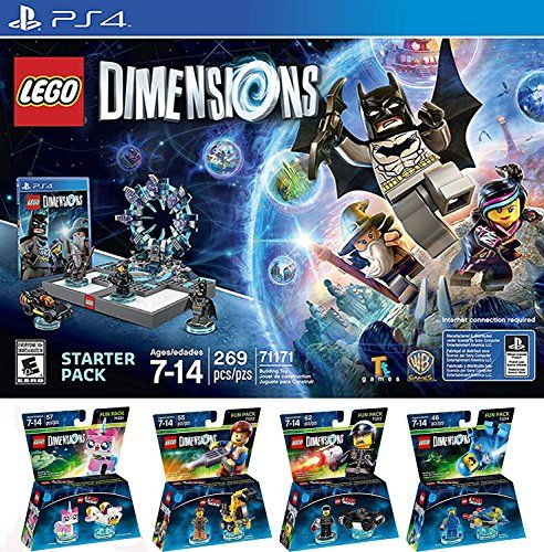 LEGO Dimensions Starter Pack for PlayStation 4 PLUS LEGO Movie ...
