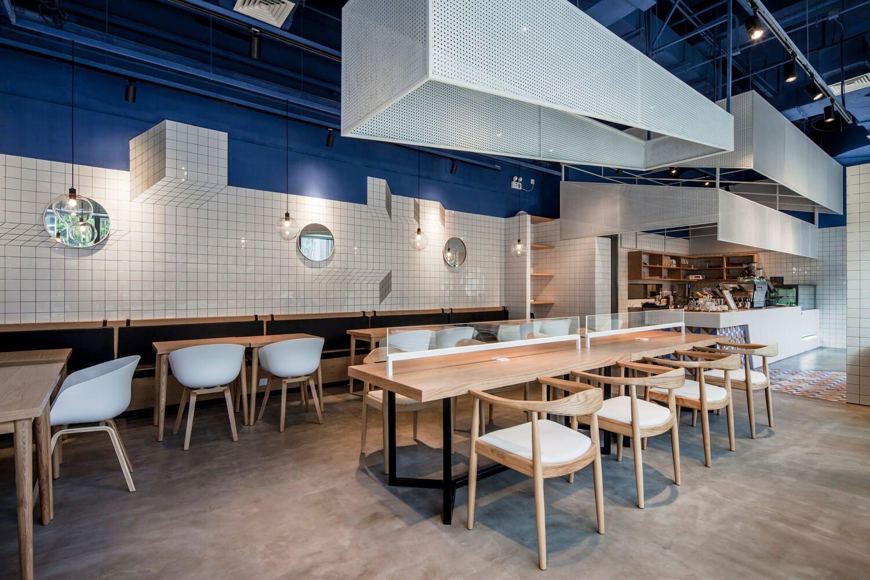 PARAS Cafe Bietet Studienraum Mit Minimalistischen Stil #bietet  #minimalistischen #paras #studienraum