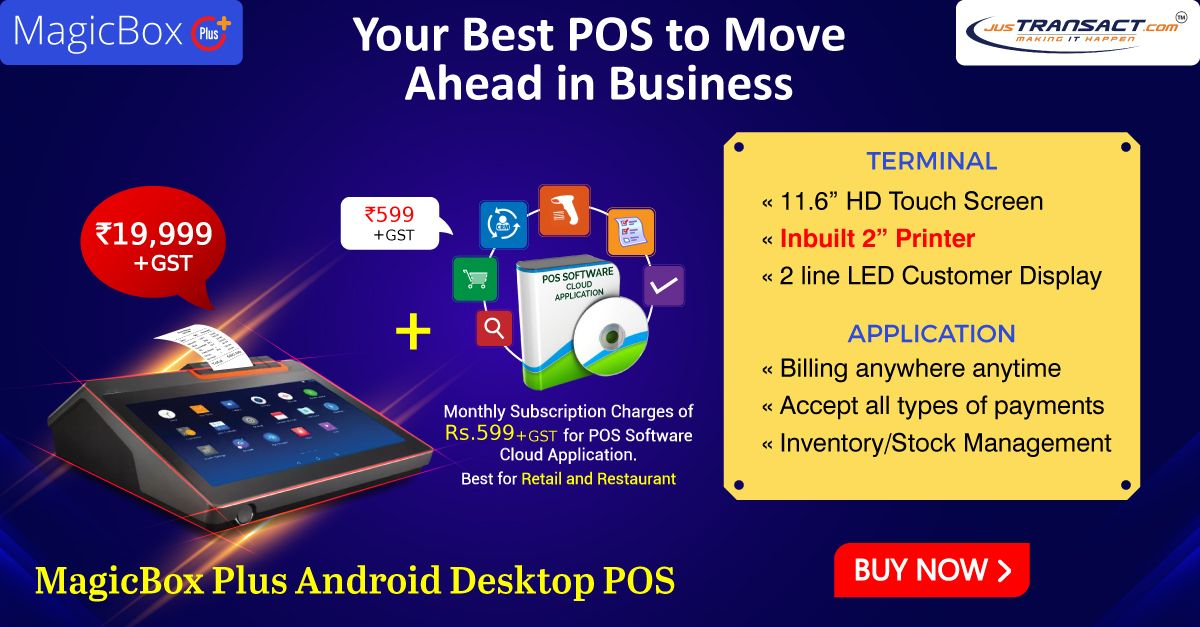 MagicBox Plus (2''inch printer) Android Desktop POS