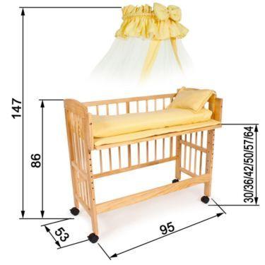 (1) Babybay / Anstellbett / Beistellbett / Stillbett in