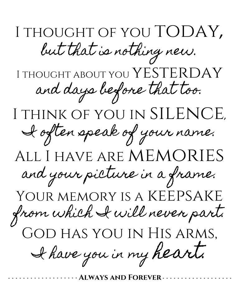 Excited To Share The Latest Addition To My Etsy Shop Remembrance Quote Poster 8 5x11 Pdf Printable Instan Remembrance Quotes Memories Quotes Gratitude Quotes