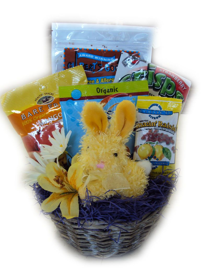 Gluten free childrens easter basket healthy easter basket gift gluten free childrens easter basket negle Image collections