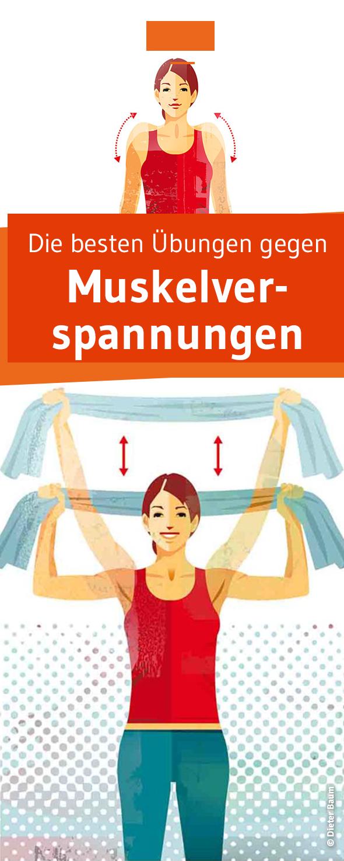 Übungen zum Lockern   Fit werden, Muskel und Vergangenheit