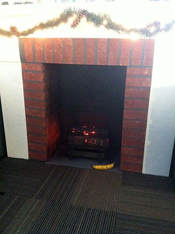 Cardboard Fireplace Awesome Diy Idea Cardboard