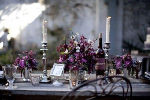 Halloween Wedding Inspiration Gothic Wedding Ideas Table Style