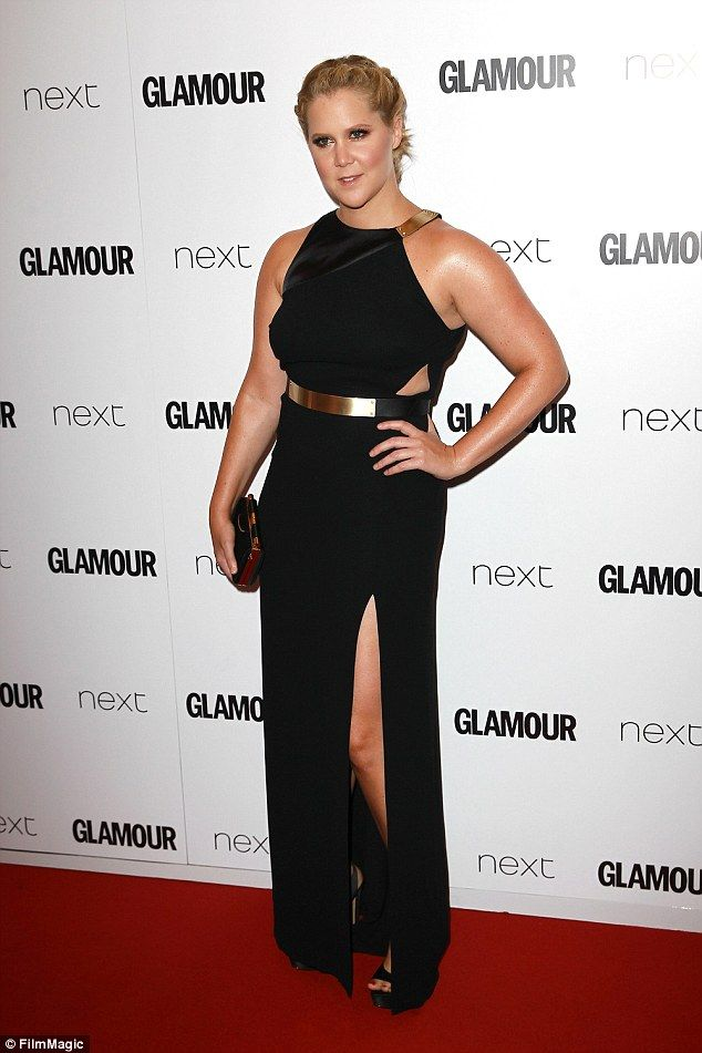 Fashion style Amy glamour schumer awards for woman