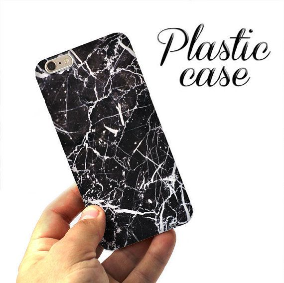 Black MARBLE CASE, iPhone 6 case, iPhone 6 marble case, iPhone 5S case, iPad case, marble, iPhone SE case, iPhone case, Phone marble case