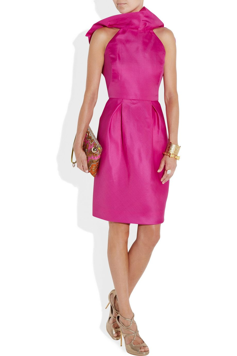 Lela Rose | Angel Wing ruffled silk-organza dress | NET-A-PORTER.COM ...