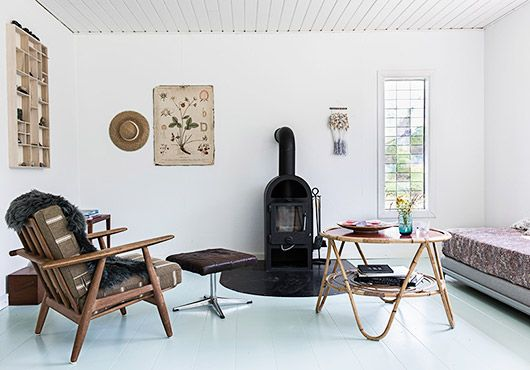 modern cottage on Danish island of fejø / sfgirlbybay