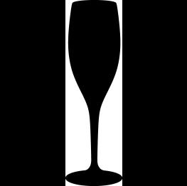 3abd23d7fd5 FREE SVG Champagne Glass Silhouette | cricut | Silhouette, Svg cuts ...