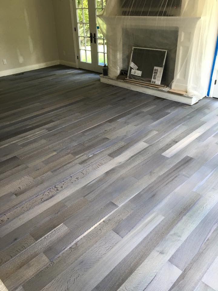 Rubio Monocoat Fume On White Oak Wood Floor Colors