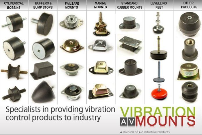 Anti Vibration Mounts We Providing Vibration Control