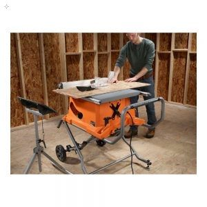 Ridgid Portable Table Saw Review