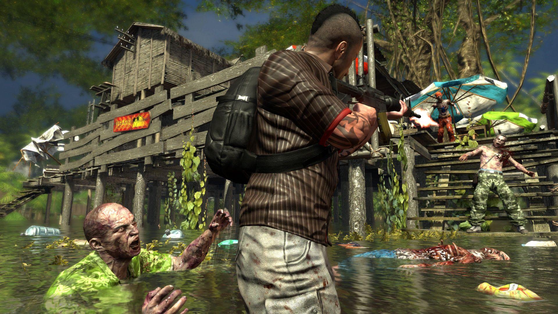 Dead Island Riptide Screenshot Jogos De Zumbi Borderlands Zumbi