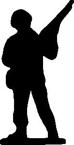 Toy Soldier Clip Art Vector Clip Art Online Royalty Free Public Domain Soldier Silhouette Clip Art Silhouette