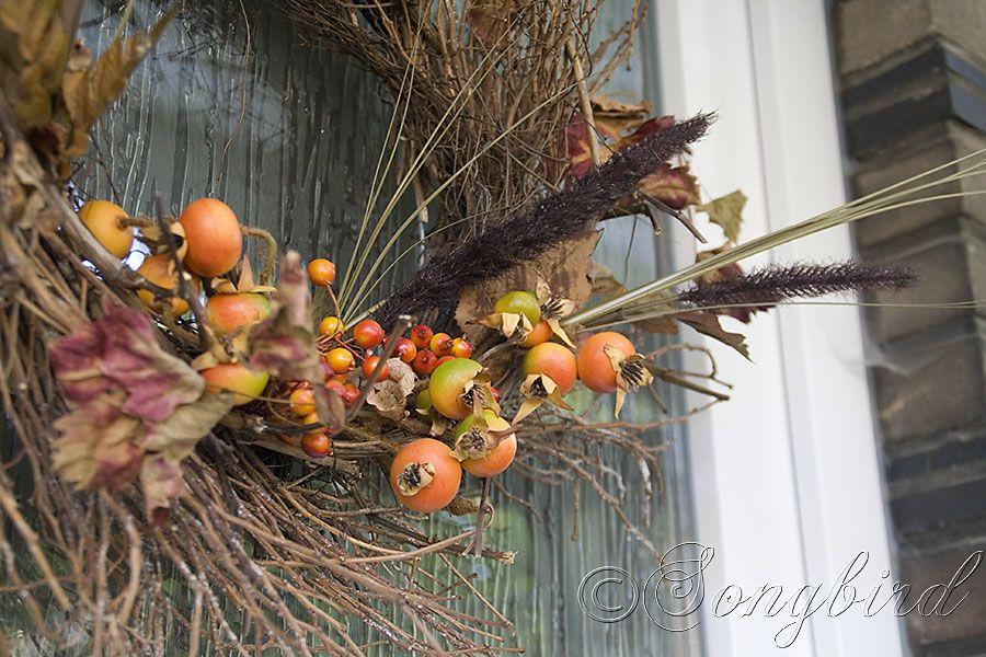 Fall Twig Wreath ~