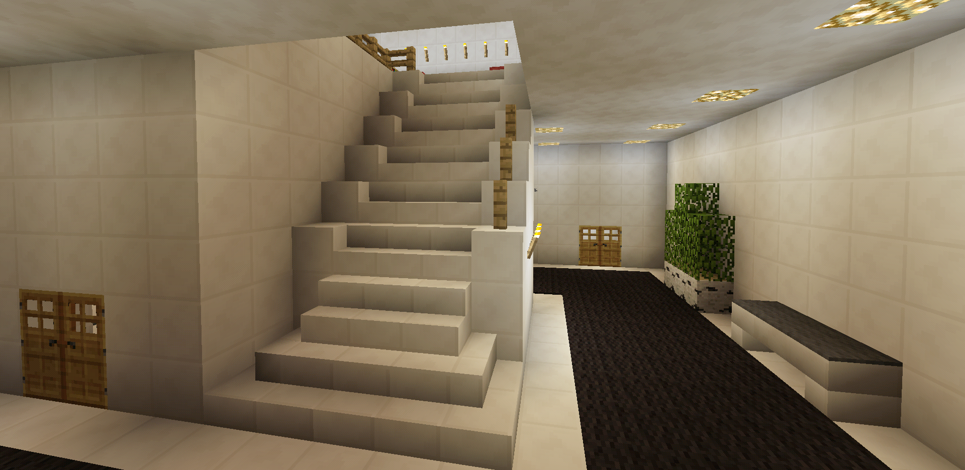 Minecraft Stairs Staircase Creations Pinterest