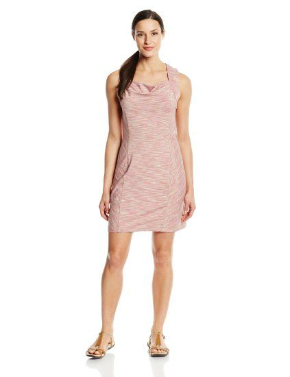 Dark Blush Women's Valencia Space Dyed Dress