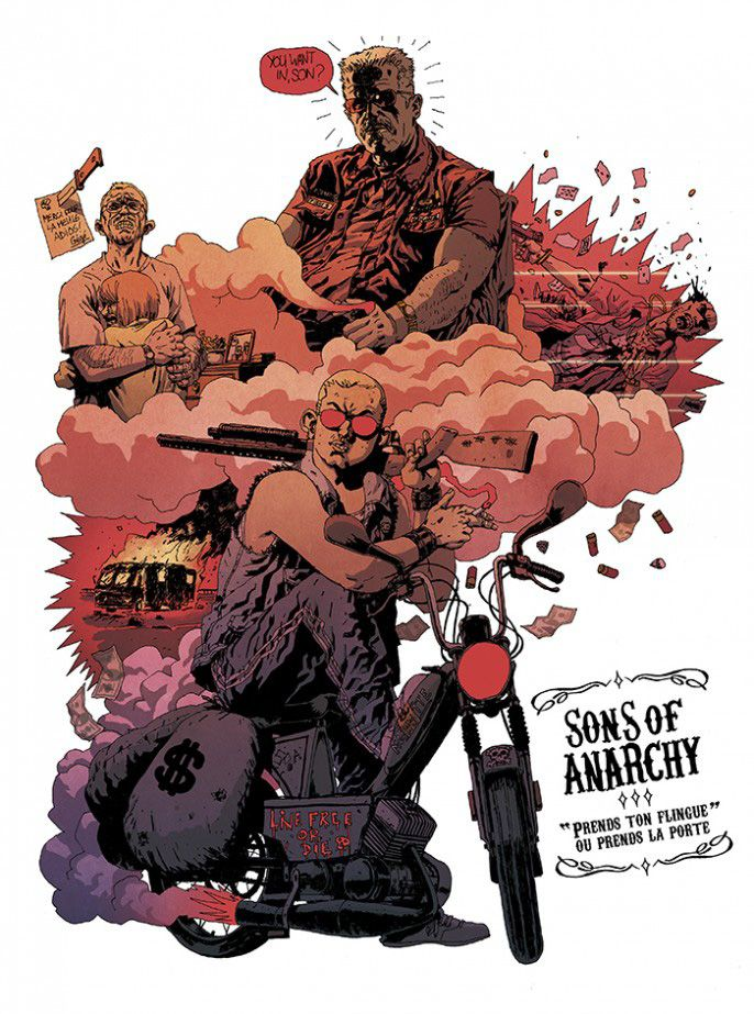 Sons of anarchy tribute art and comic book anarchy and sons checkout some sons of anarchy tribute art from label 619 celebrating the sons of anarchy comic book voltagebd Image collections
