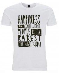 Happiness-Männer TShirt Rundhals